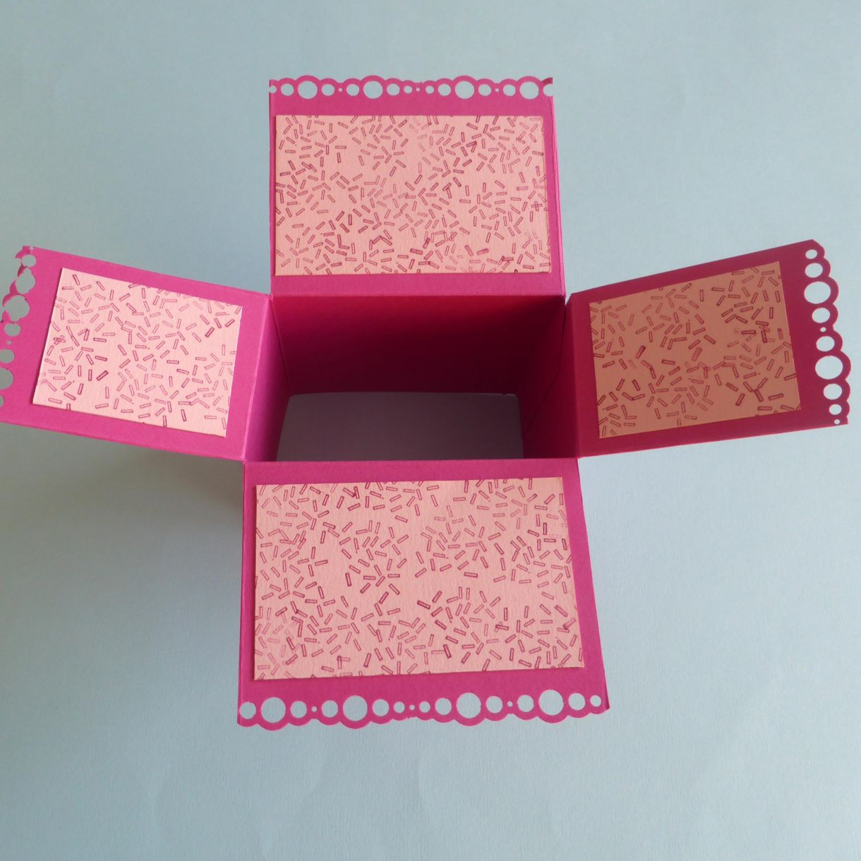 Jane Cupcake Box Card 1H