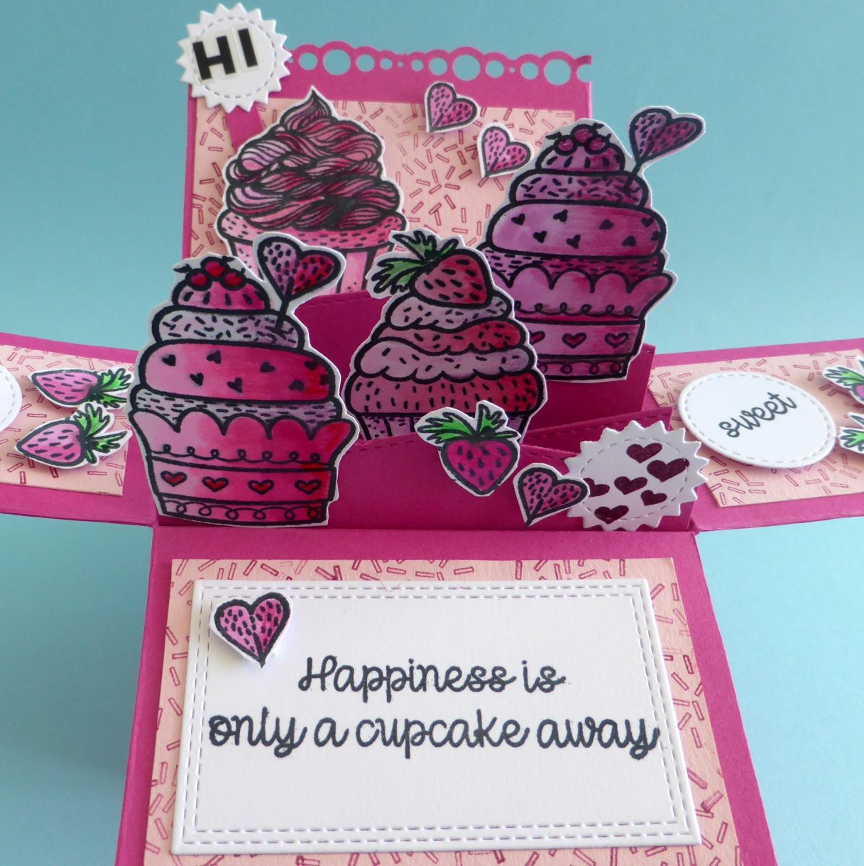 Jane Cupcake Box Card 1L