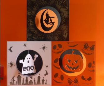 Halloween Spinner Card