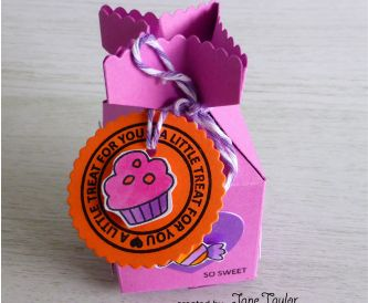 Sweet Shop Mixed Card Pack & A Cute Gift Box