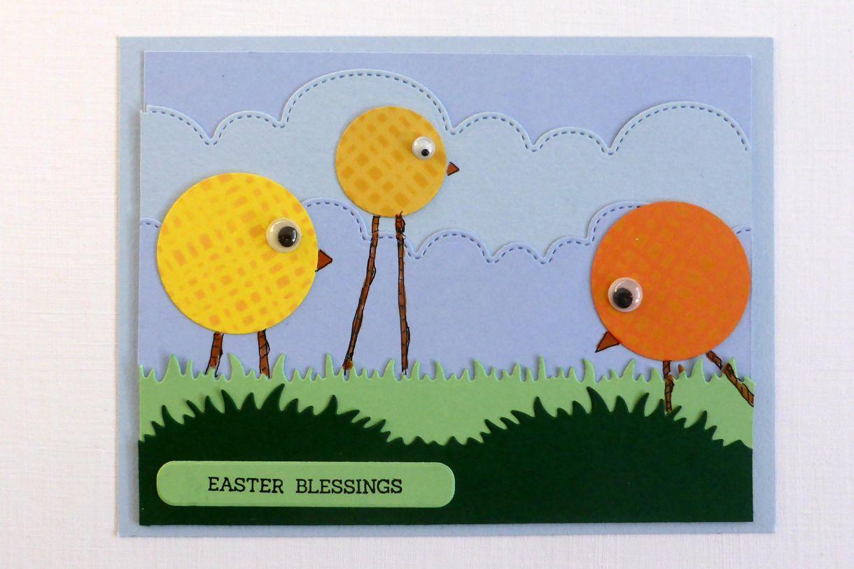 Jane T Easter Chicks 1F