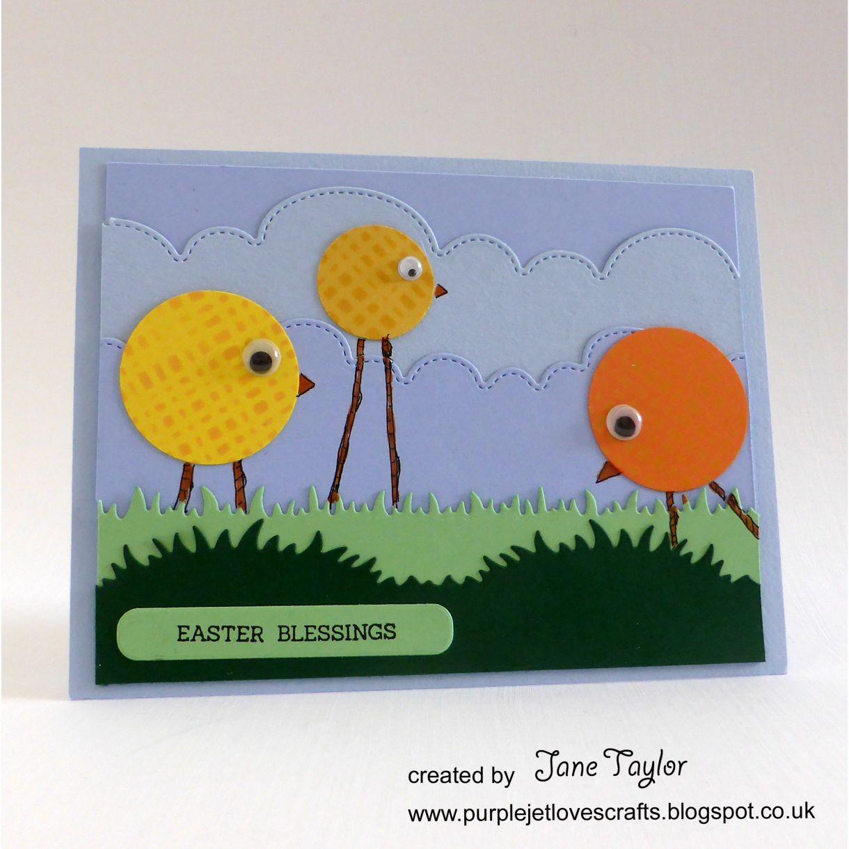 Jane T Easter Chicks 1H