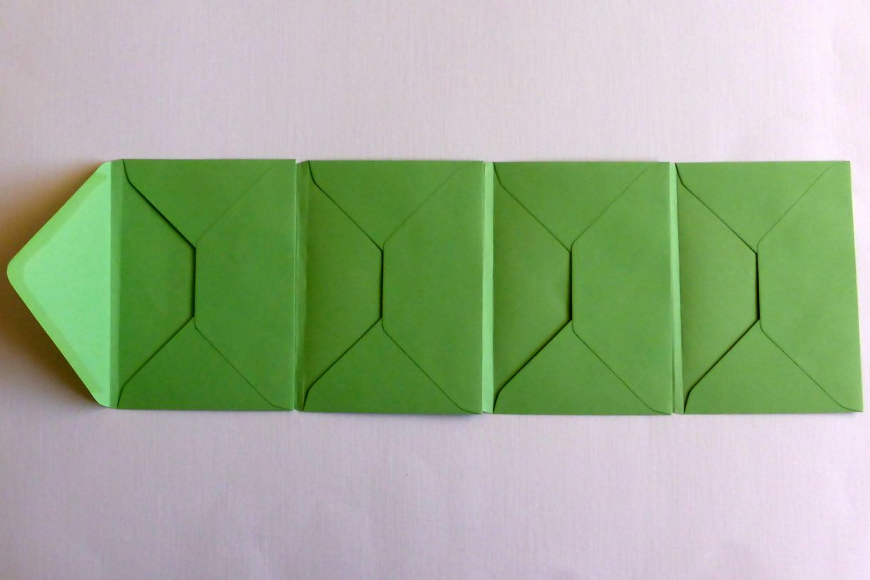 Jane T Envelope Flip Book 1B