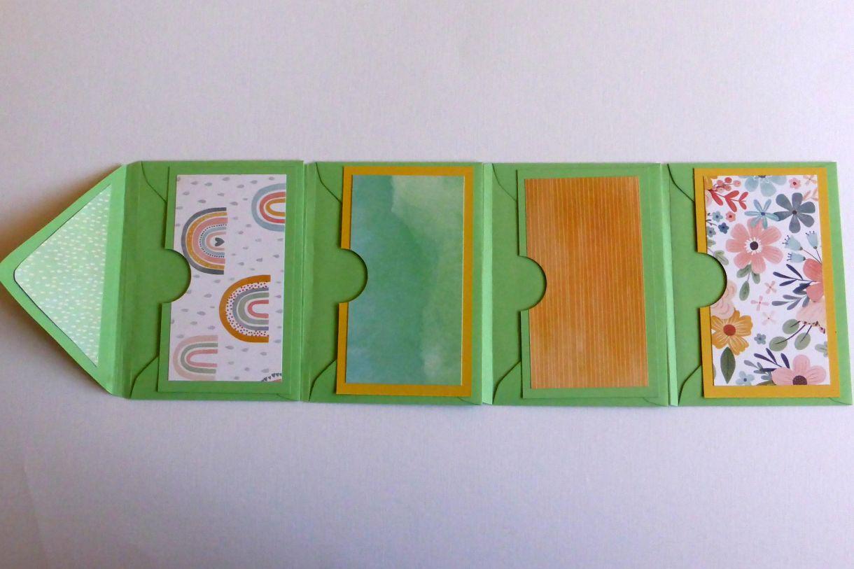 Jane T Envelope Flip Book 1F