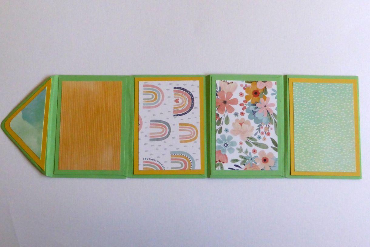 Jane T Envelope Flip Book 1G