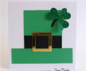 A Quick & Easy St Patrick's Day Card