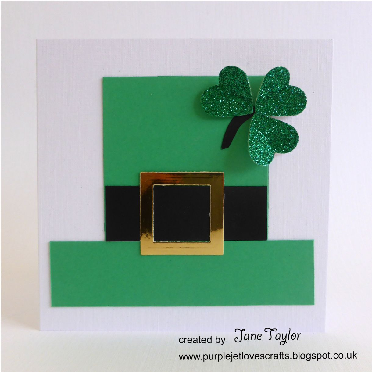 Jane T St Patricks Day Card 1F