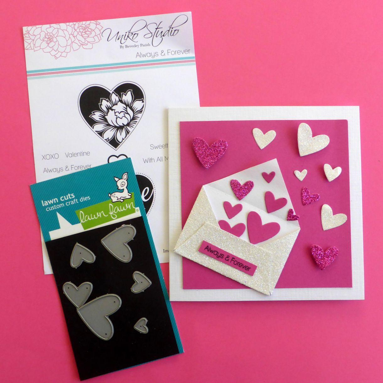 Jane T Valentine Hearts 1E