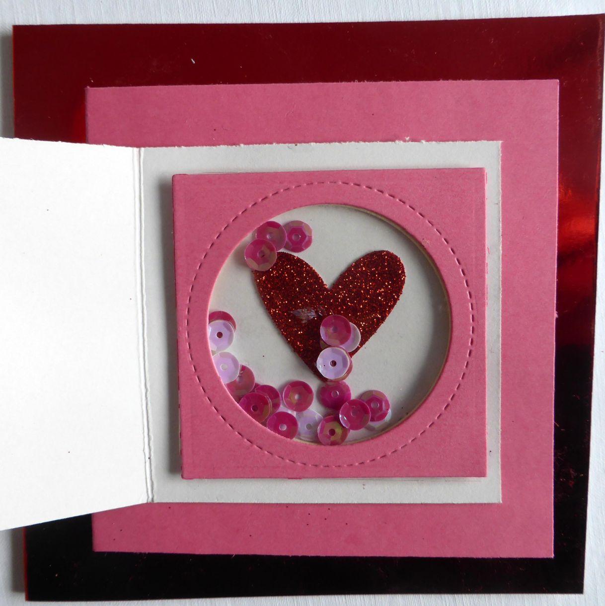 Jane T Valentine Layered Card 1F