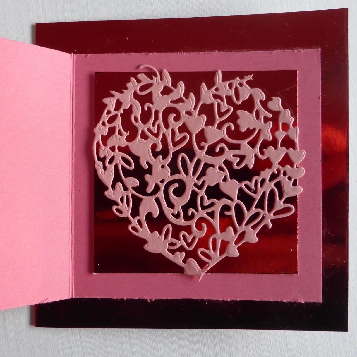 Jane T Valentine Layered Card 1G