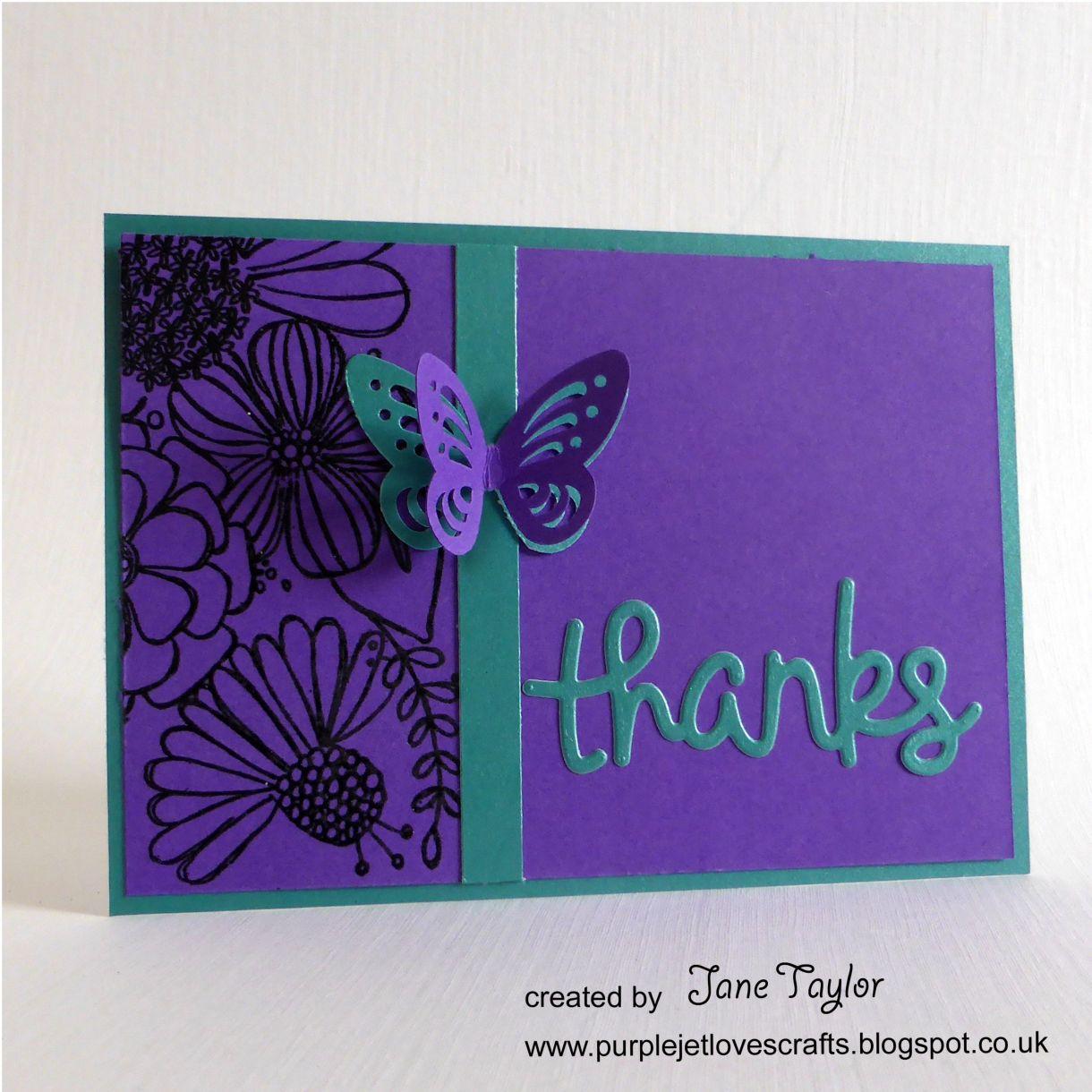 Jane T Thanks Teal Purple 1E