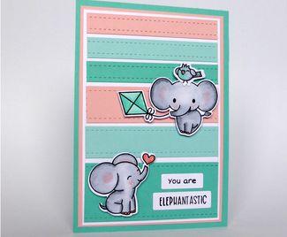You Are Elephantastic! Aqua