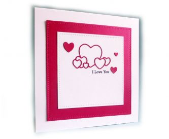 A CAS Valentine's Day Card