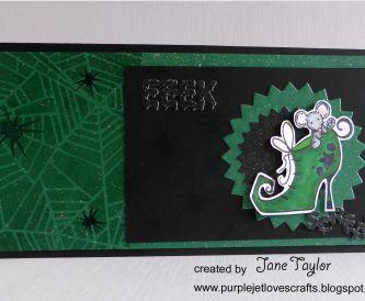 Eek! A Halloween Card
