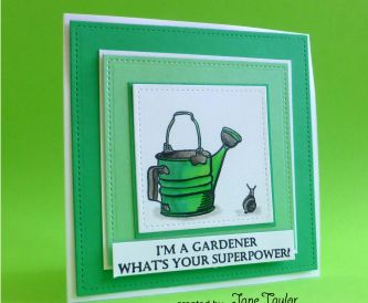 Superpower Gardener Card