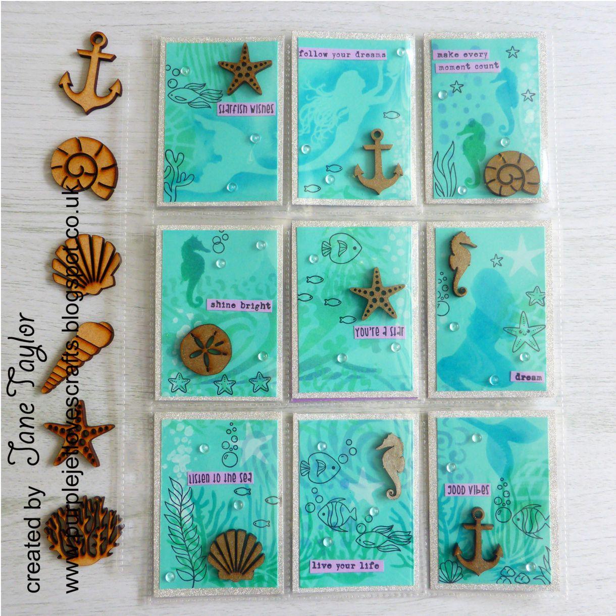 Jane Mermaid Pocket Letter 1