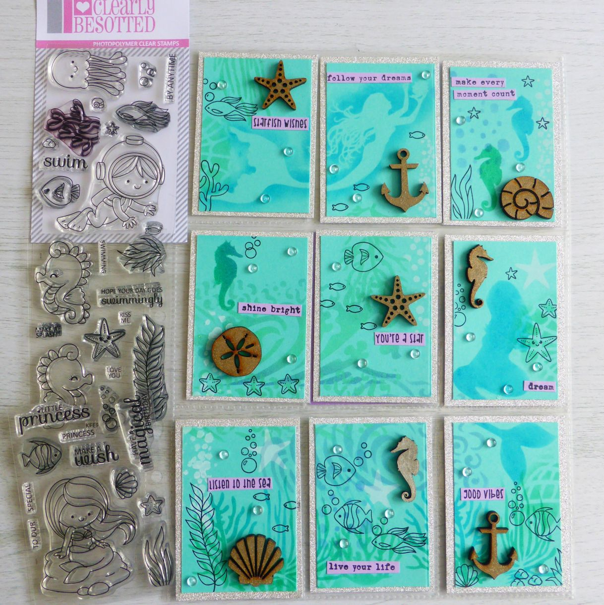 Jane Mermaid Pocket Letter 1A
