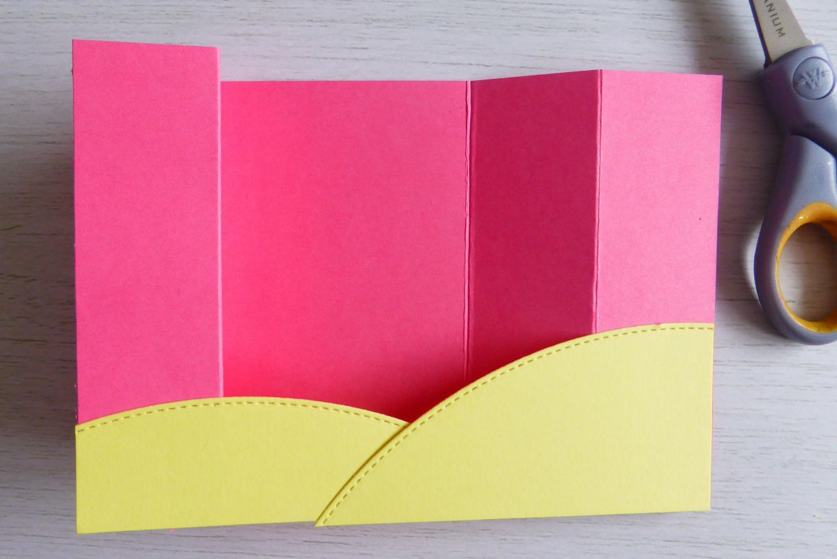 Jane Pink And Yellow Bridge Card 3