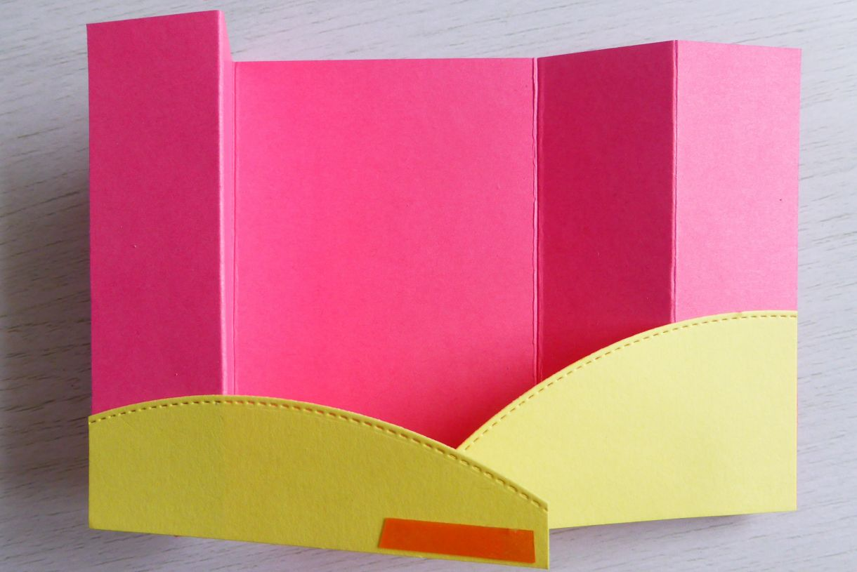 Jane Pink And Yellow Bridge Card 4