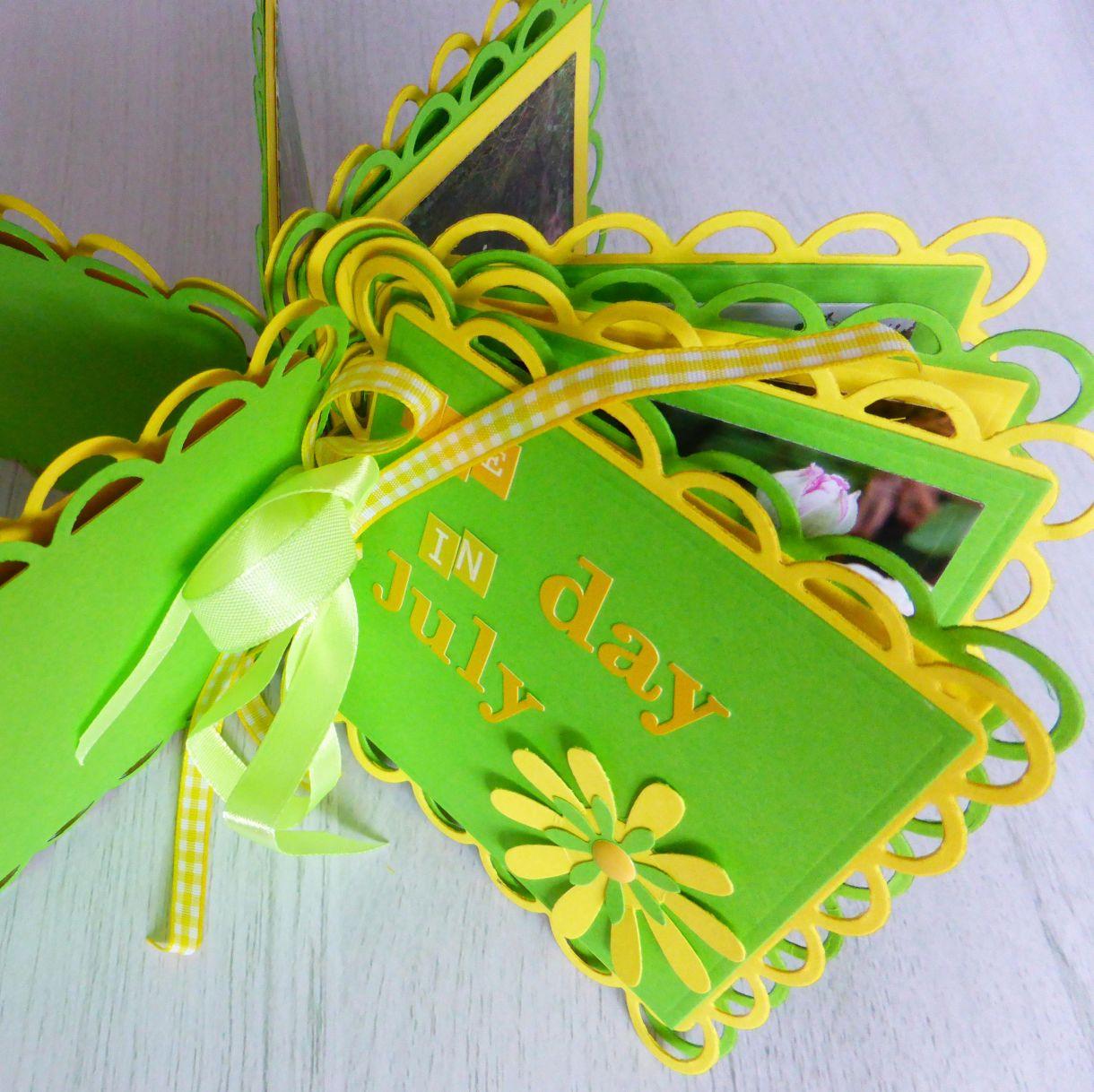 Jane Yellow Green Mini Album 4