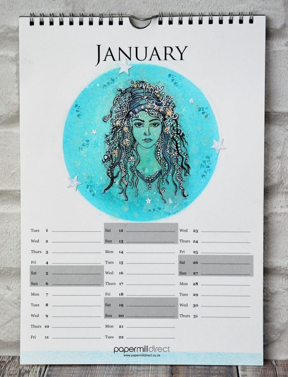 January Calender Page 5