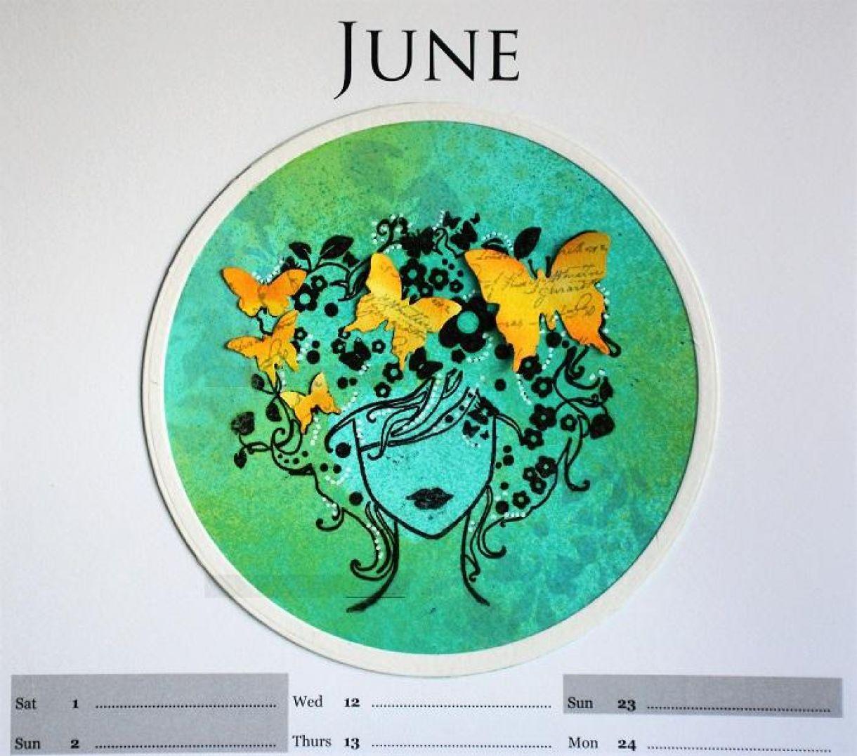 June Calendar Page Sylv 3