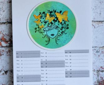 2019 Create-A-Calendar Summer Months