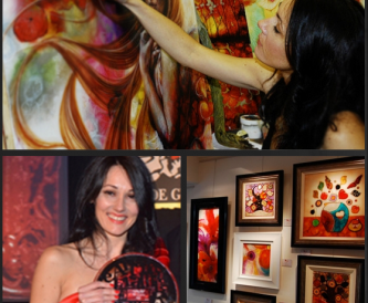 Meet Kerry Darlington - The UK's best selling published artist!