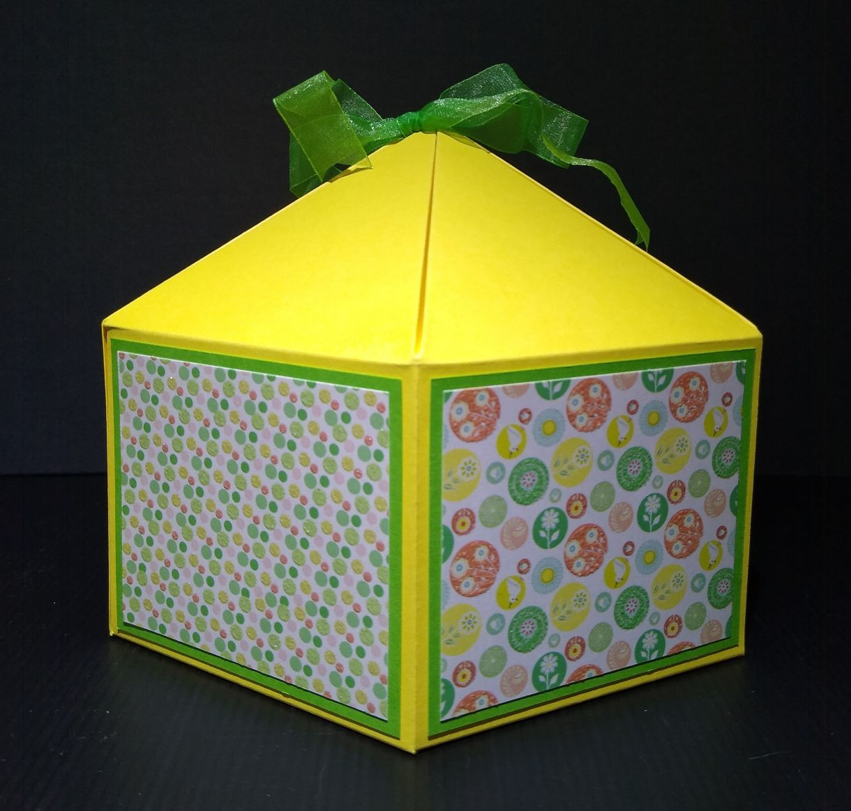 Large Squat Hexagonal Gift Box 2