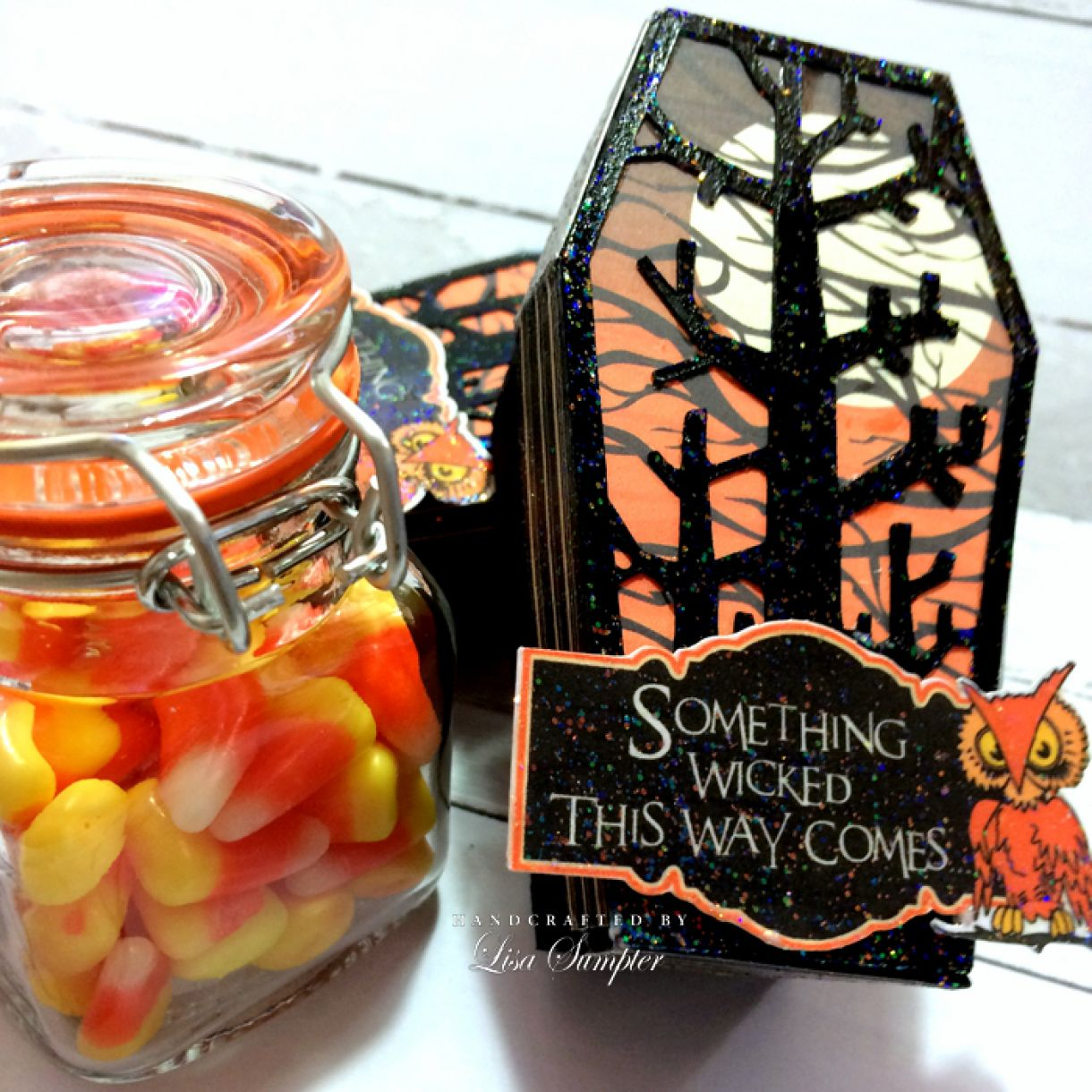 Lisa  Sumpter  Candy  Corn  Coffins 1