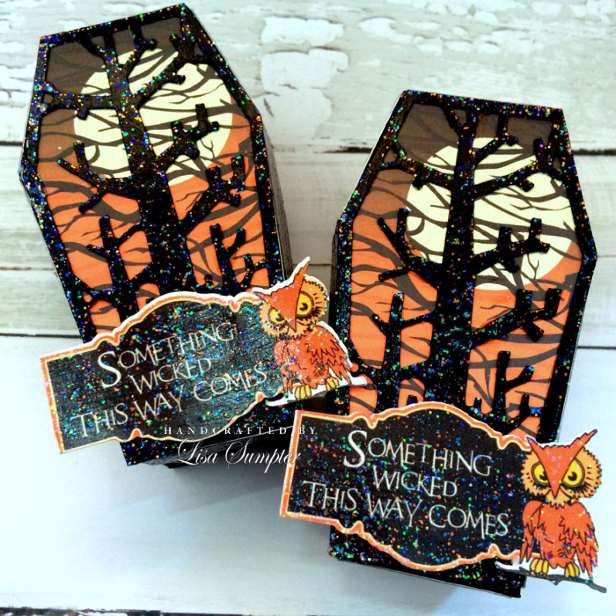 Lisa  Sumpter  Candy  Corn  Coffins 2
