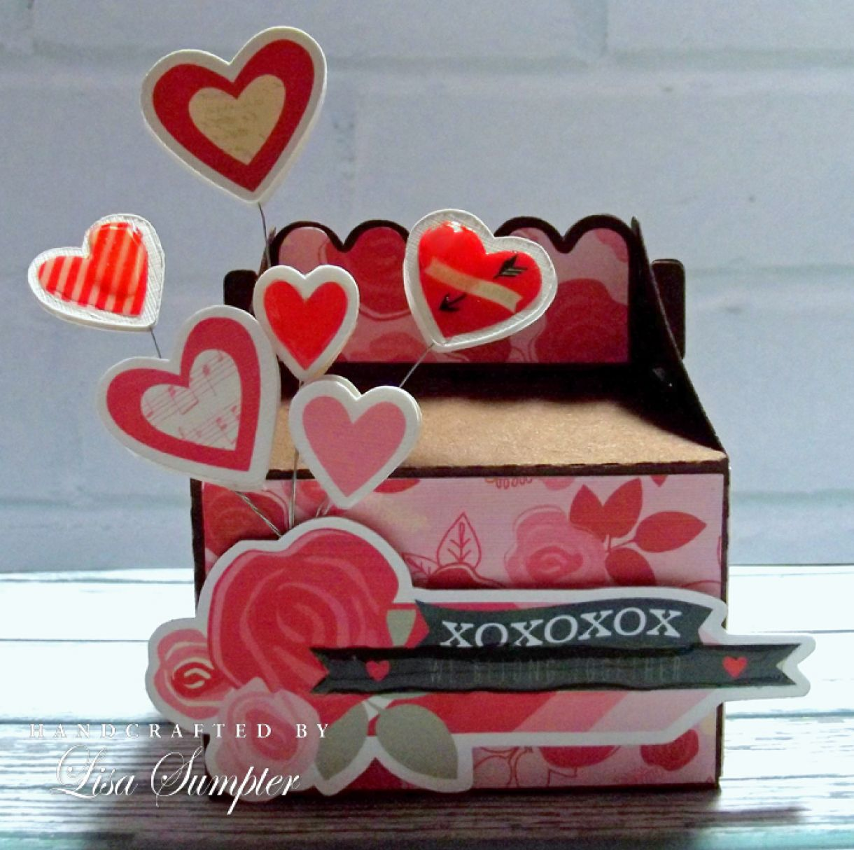 Lisa  Sumpter  Papermilldirect  Valentine  Gift  Box A