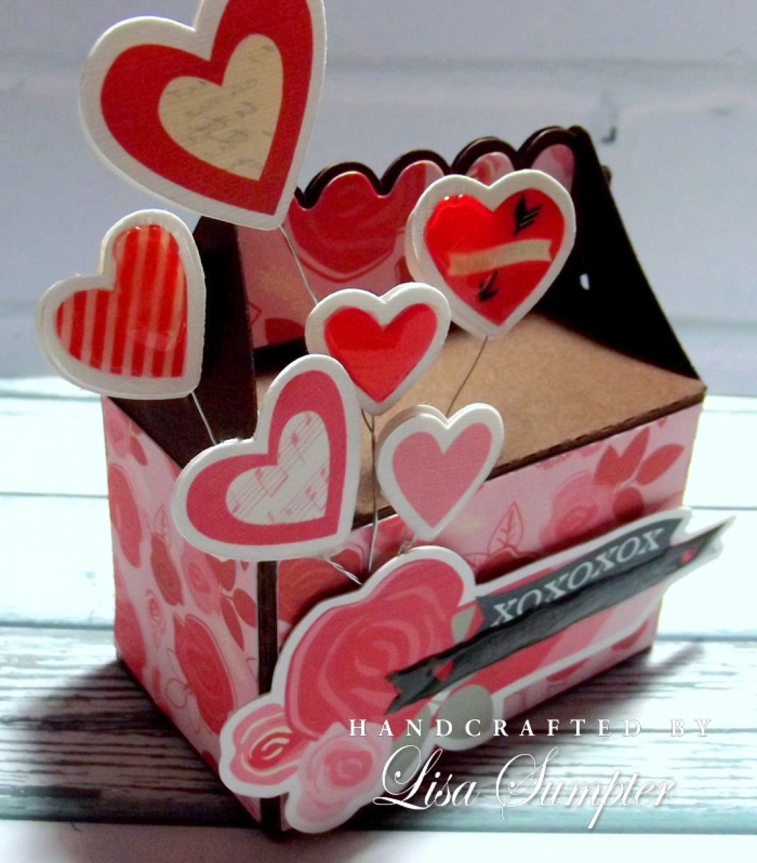 Lisa  Sumpter  Papermilldirect  Valentine  Gift  Box B