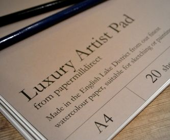 Luxury Artist Pad - Paper Review