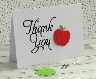 DIY Thank you cards – perfect for teachers