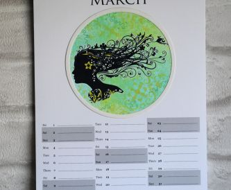 More Papermilldirect Create-A-Calendar Pages