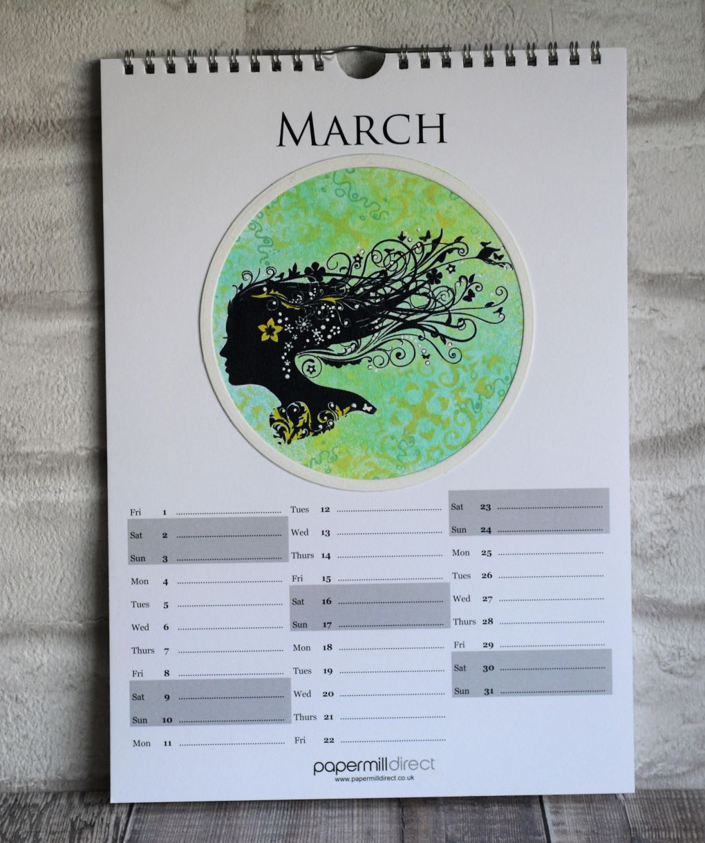March Calendar Page 1