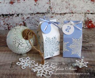 Milk Carton Advent Calendar