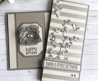 Monochrome Birthday Cards