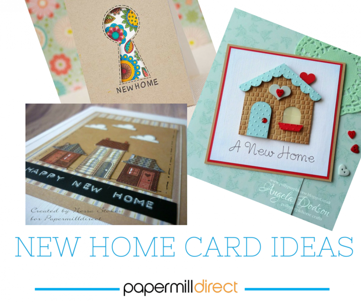 Card Making Ideas For Moving House Part - 19: Papermilldirect