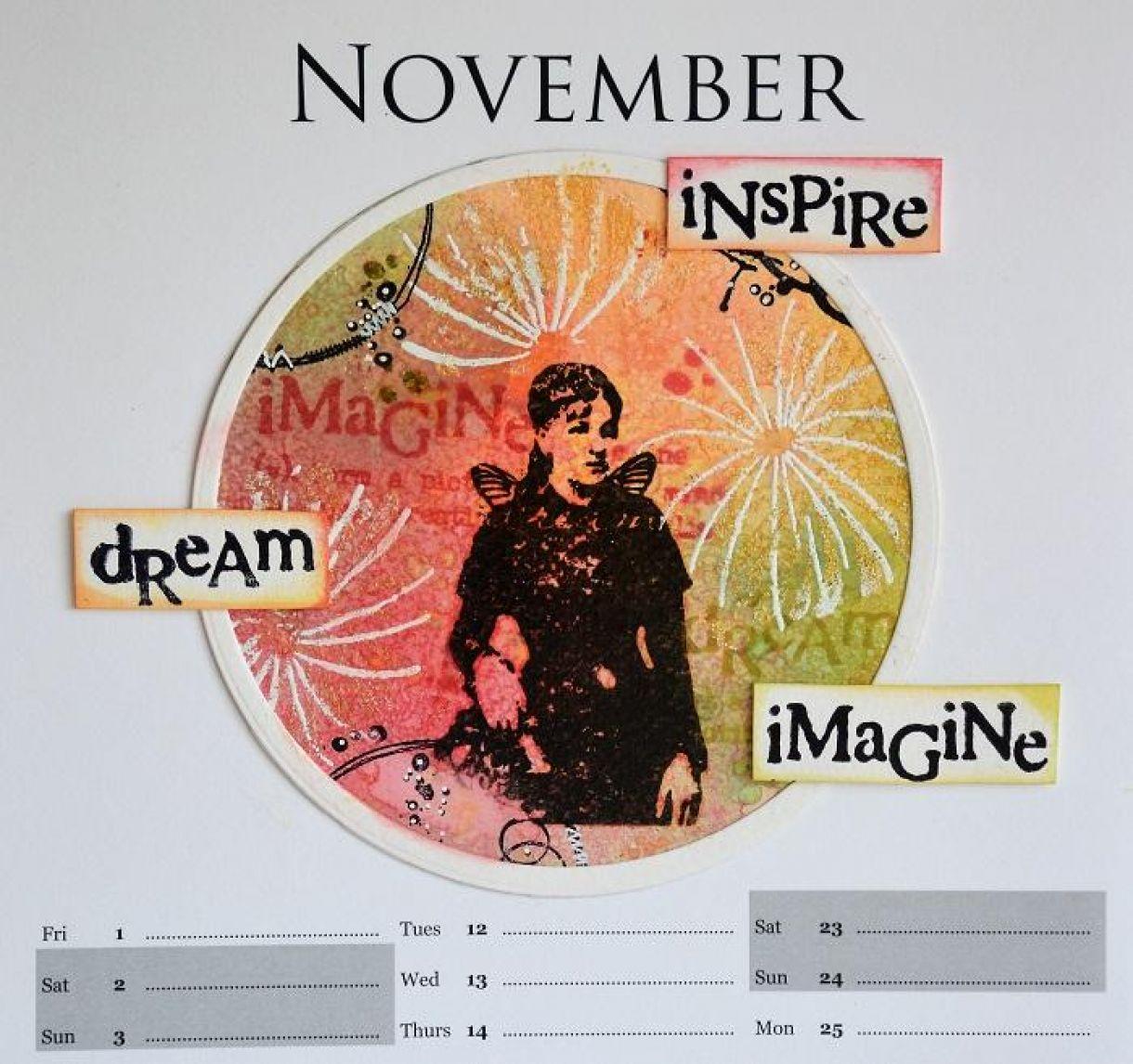 November Calendar Page Sylv3