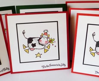Batch Making Christmas Cards…..