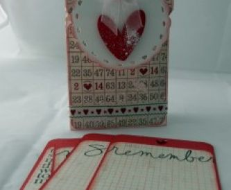 Love Notes - a little handmade gift box tutorial