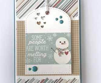 Trifold Pocket Christmas Card