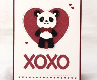 XOXO | Love Theme Card