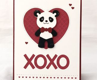 XOXO | Love Theme Card