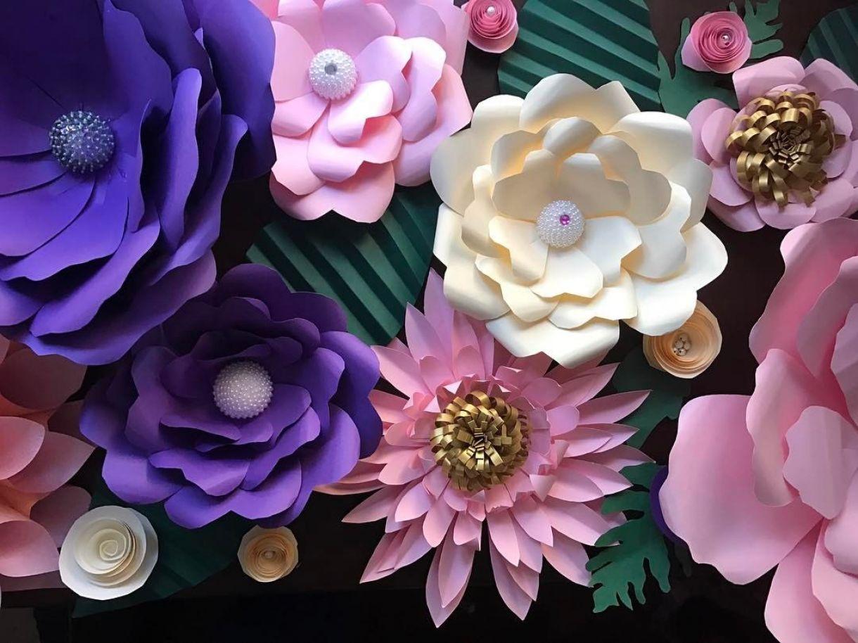 Meet the paper florist keji aofiyebi of sequins and petals paper flower 7 mightylinksfo