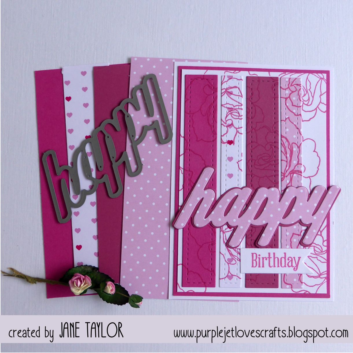 Pink Strips 1F
