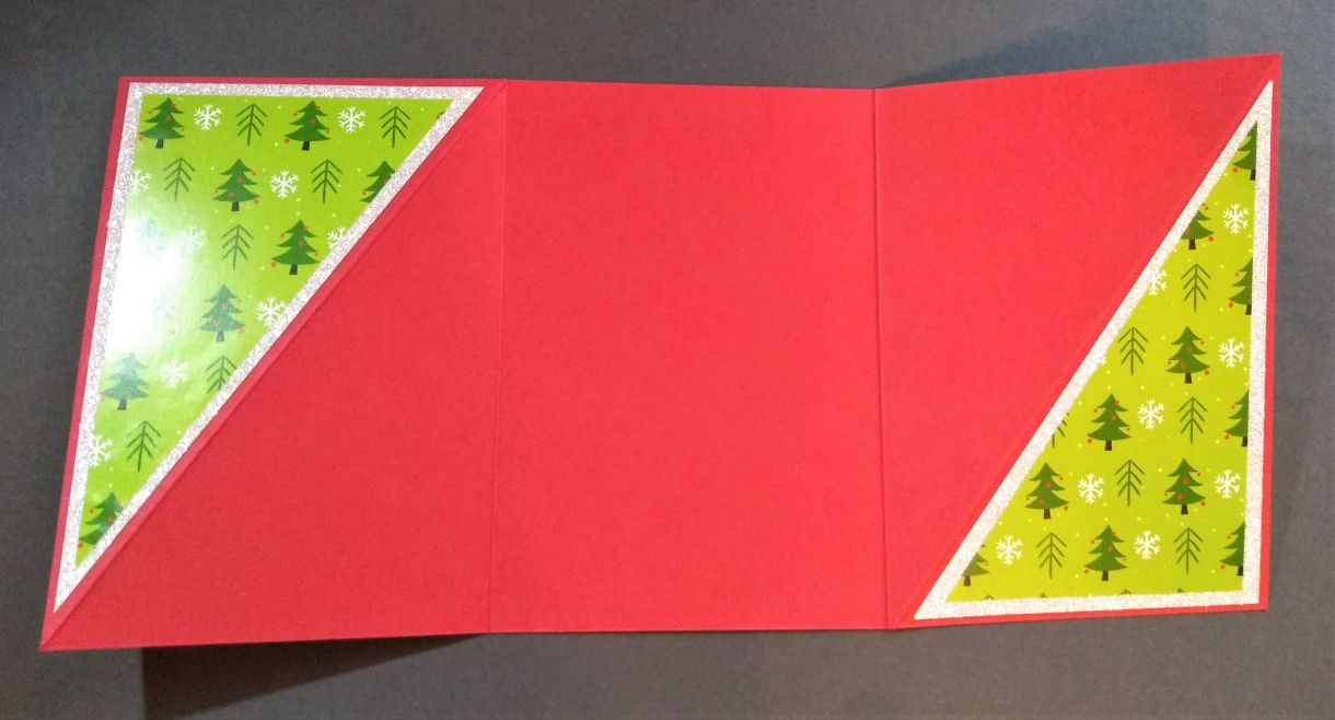 Poinsettia Twist Fold Card Instructions 6