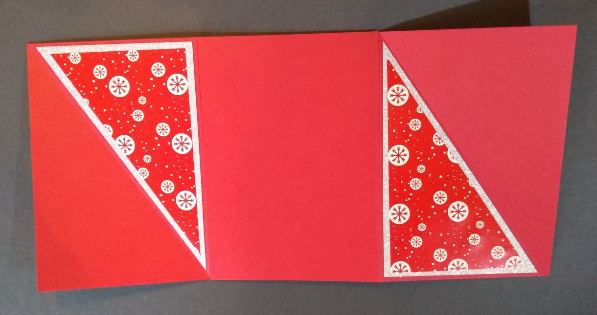 Poinsettia Twist Fold Card Instructions 7